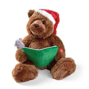 christmas book bear